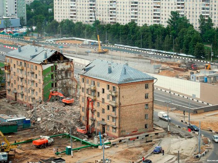 Снос хрущёвок в Москве 2017-2018 (адреса, список). Снос пятиэтажек несносимых серий - свежая информация